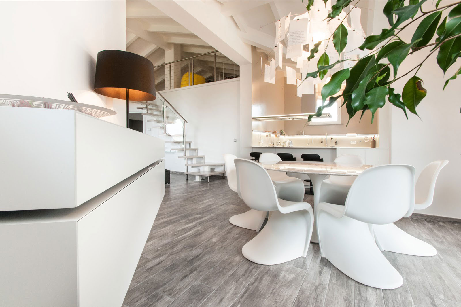 Chic Penthouse in Pisa, Italy by Lorenzo Mannini-08