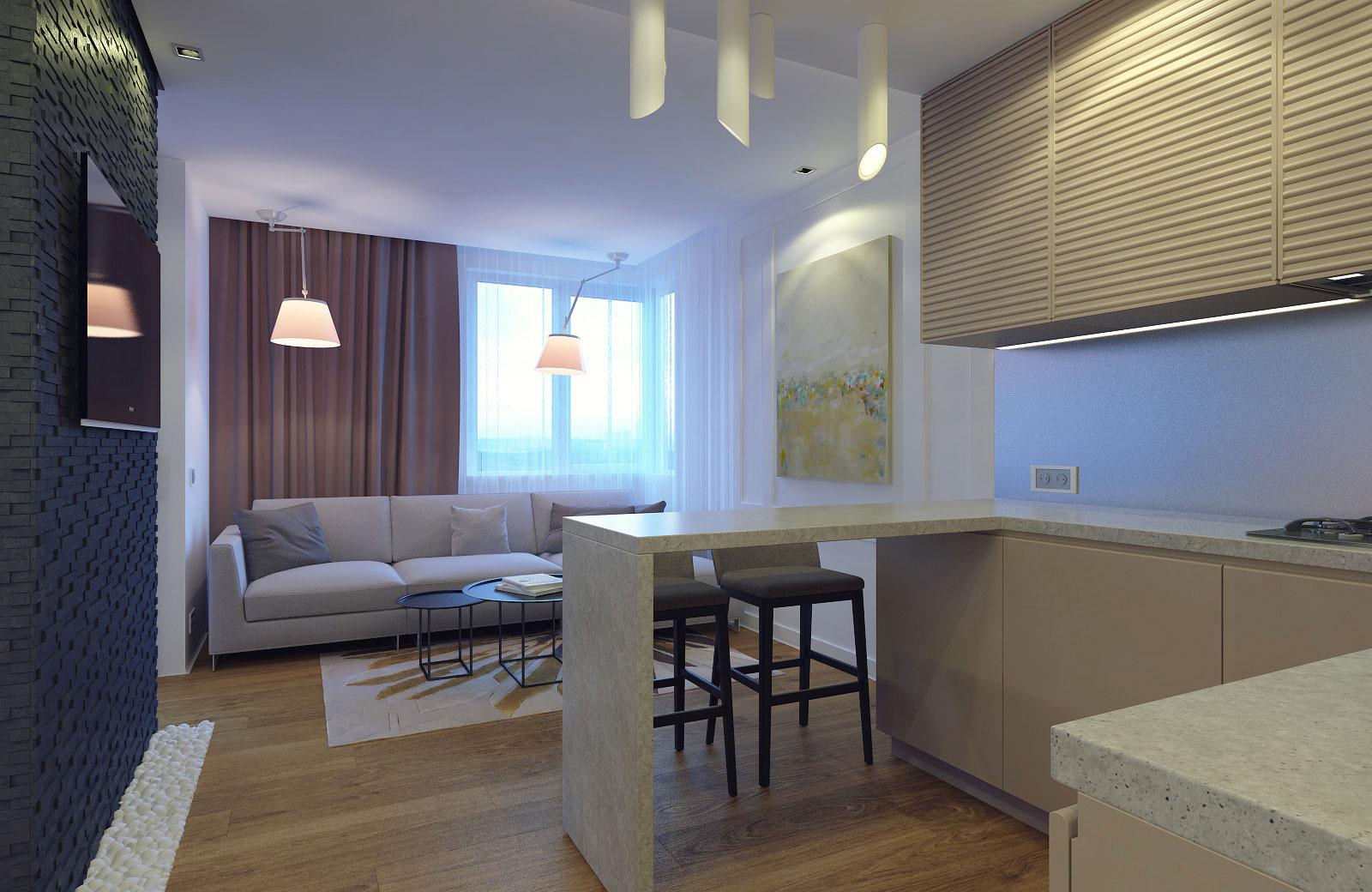 Compact Apartment in Kiev by Eugene Meshcheruk-01