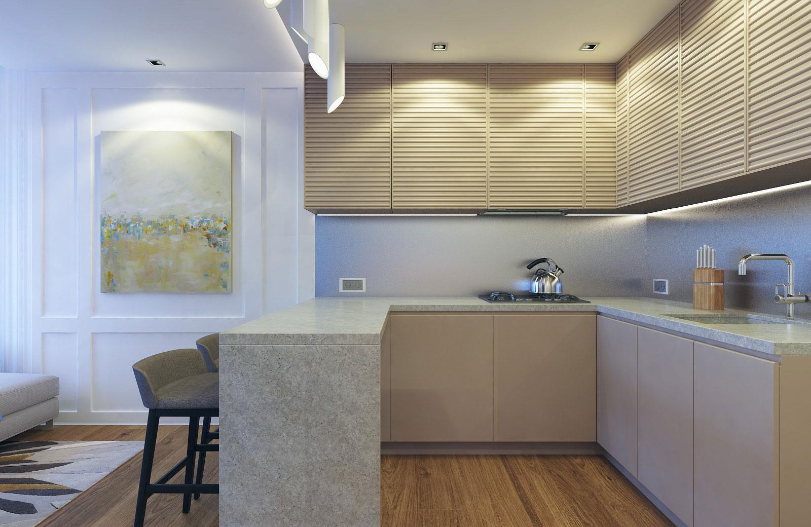 Compact Apartment in Kiev by Eugene Meshcheruk-08