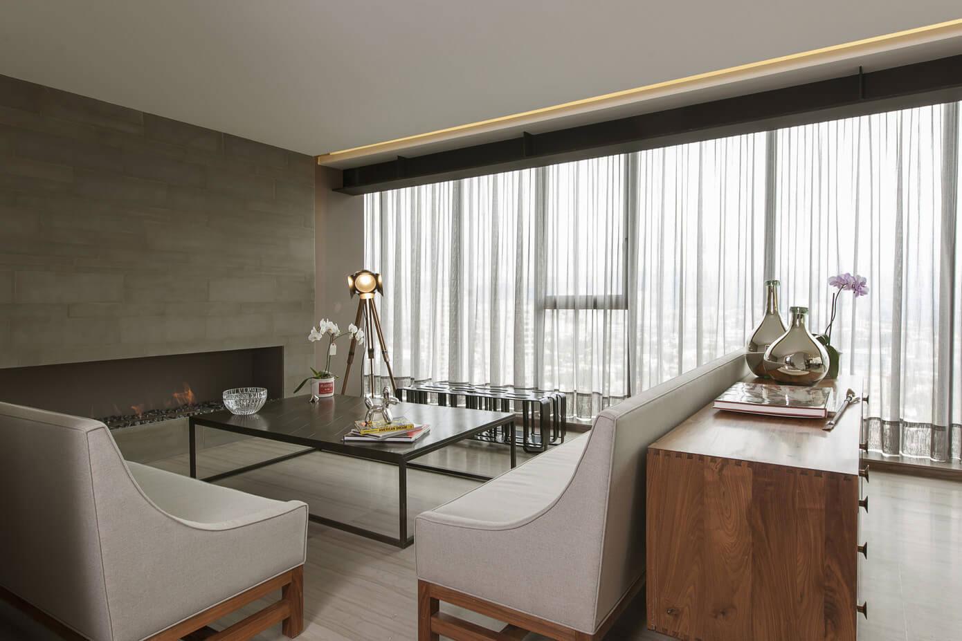 Contemporary CM Apartment in Mexico City by Kababie Arquitectos-04