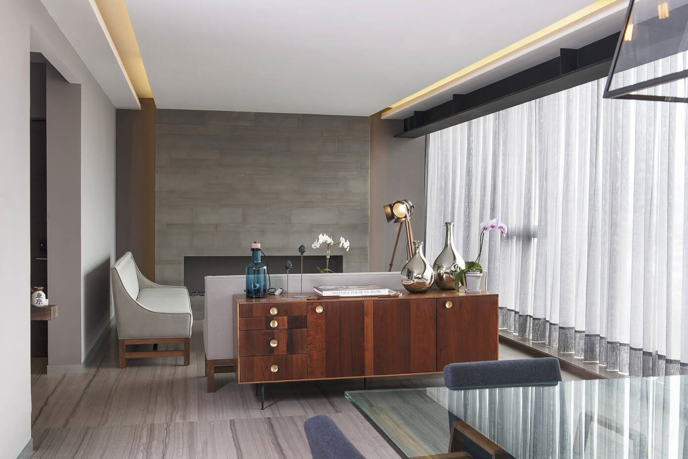 Contemporary CM Apartment in Mexico City by Kababie Arquitectos-05
