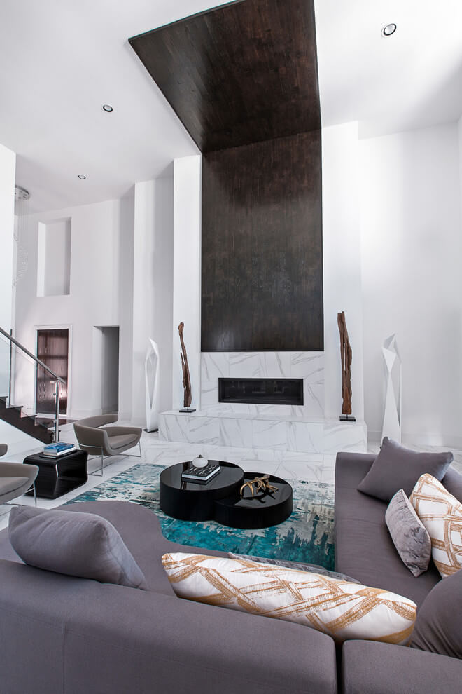 Couture modern residence in houston by contour interior for Modern home decor houston