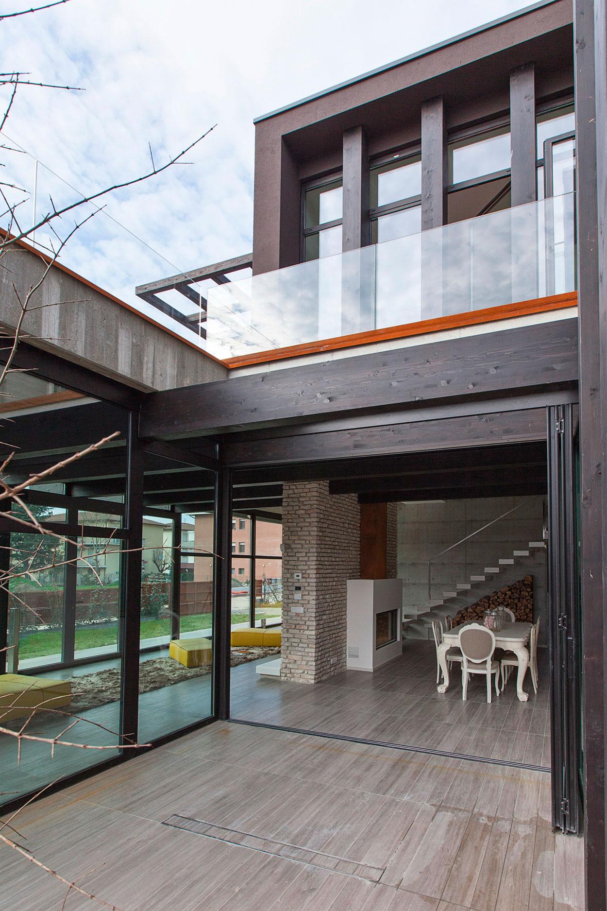 D'Autore Residence near Bologna by Giraldi Associati Architetti-07