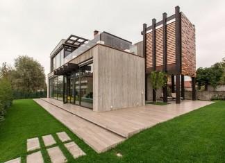 D'Autore Residence near Bologna by Giraldi Associati Architetti