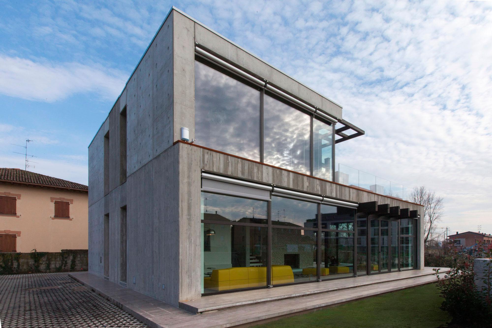 D'Autore Residence near Bologna by Giraldi Associati Architetti-11