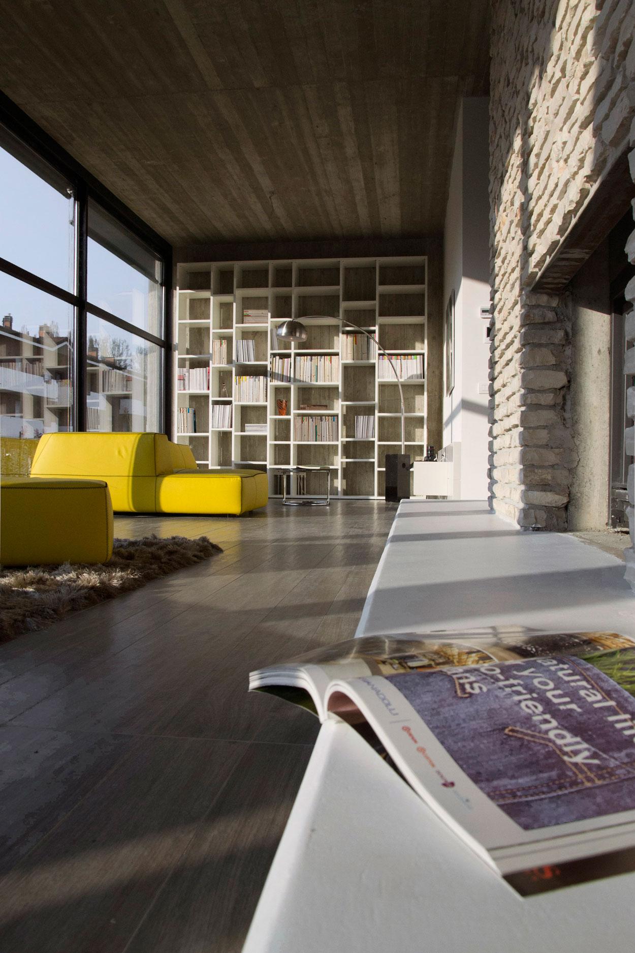 D'Autore Residence near Bologna by Giraldi Associati Architetti-15