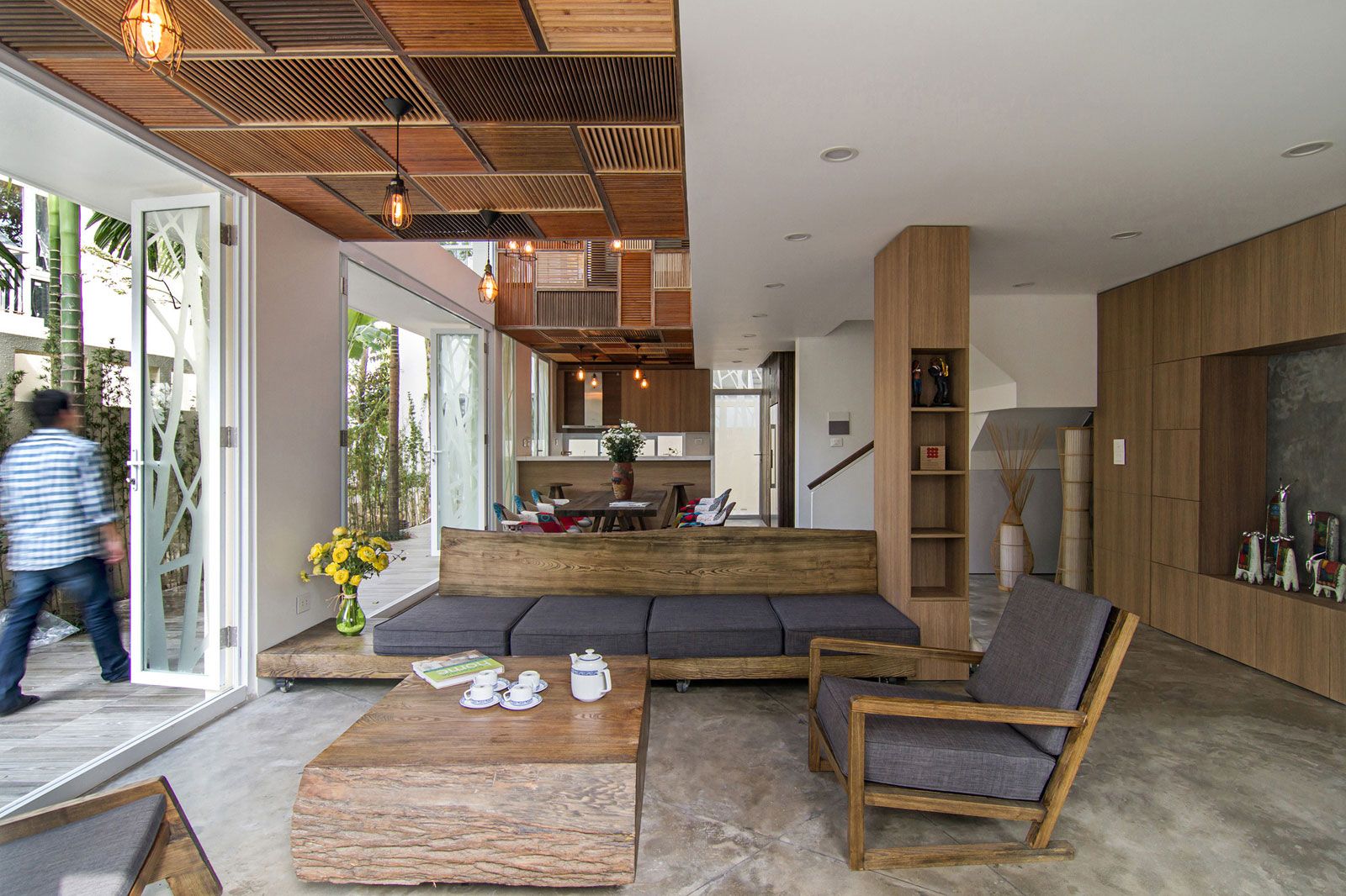 EPV Semi-Detached House Located in Ecopark Green Urban Area, Vietnam by AHL architects associates-03
