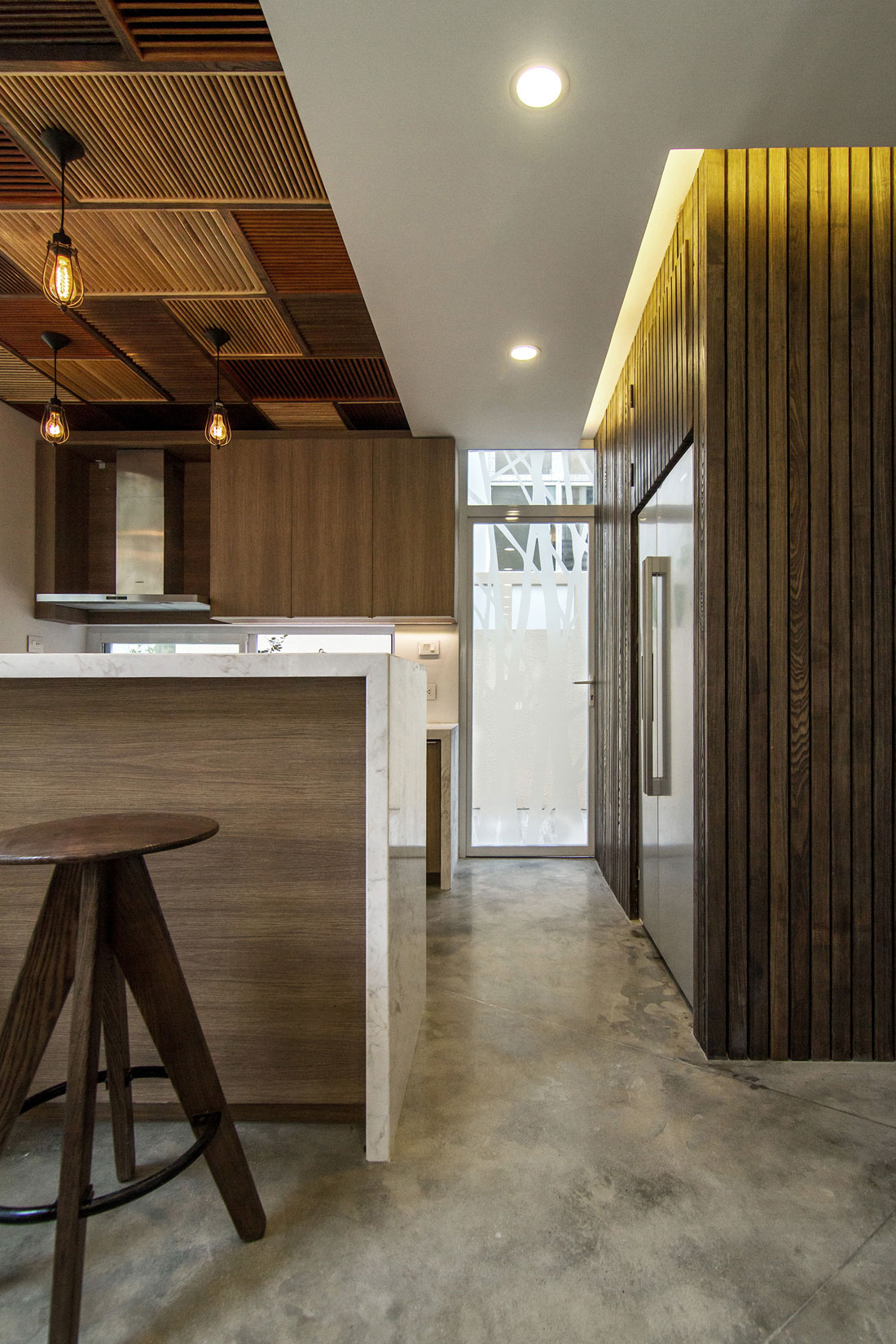 EPV Semi-Detached House Located in Ecopark Green Urban Area, Vietnam by AHL architects associates-07