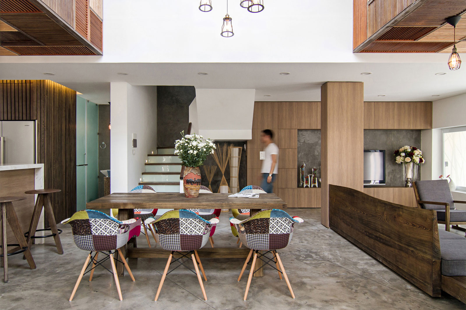 EPV Semi-Detached House Located in Ecopark Green Urban Area, Vietnam by AHL architects associates-10