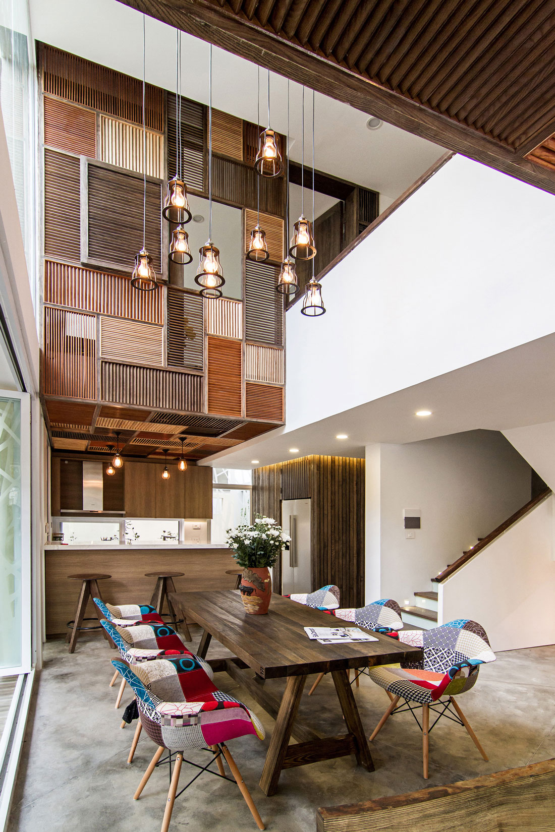 EPV Semi-Detached House Located in Ecopark Green Urban Area, Vietnam by AHL architects associates-13