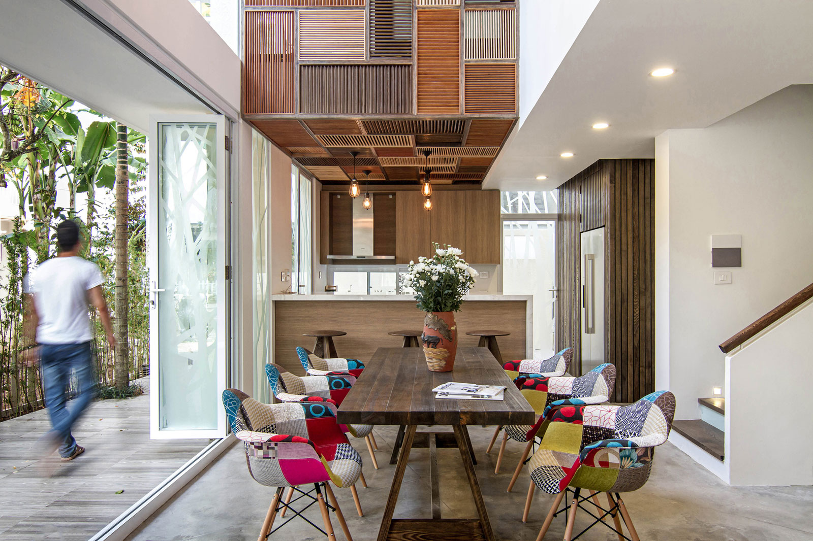 EPV Semi-Detached House Located in Ecopark Green Urban Area, Vietnam by AHL architects associates-15