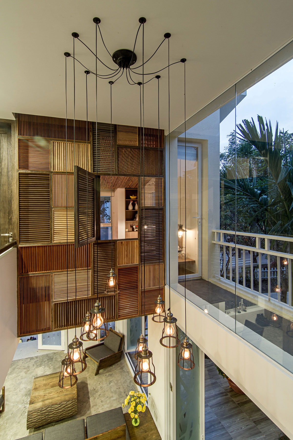 EPV Semi-Detached House Located in Ecopark Green Urban Area, Vietnam by AHL architects associates-20