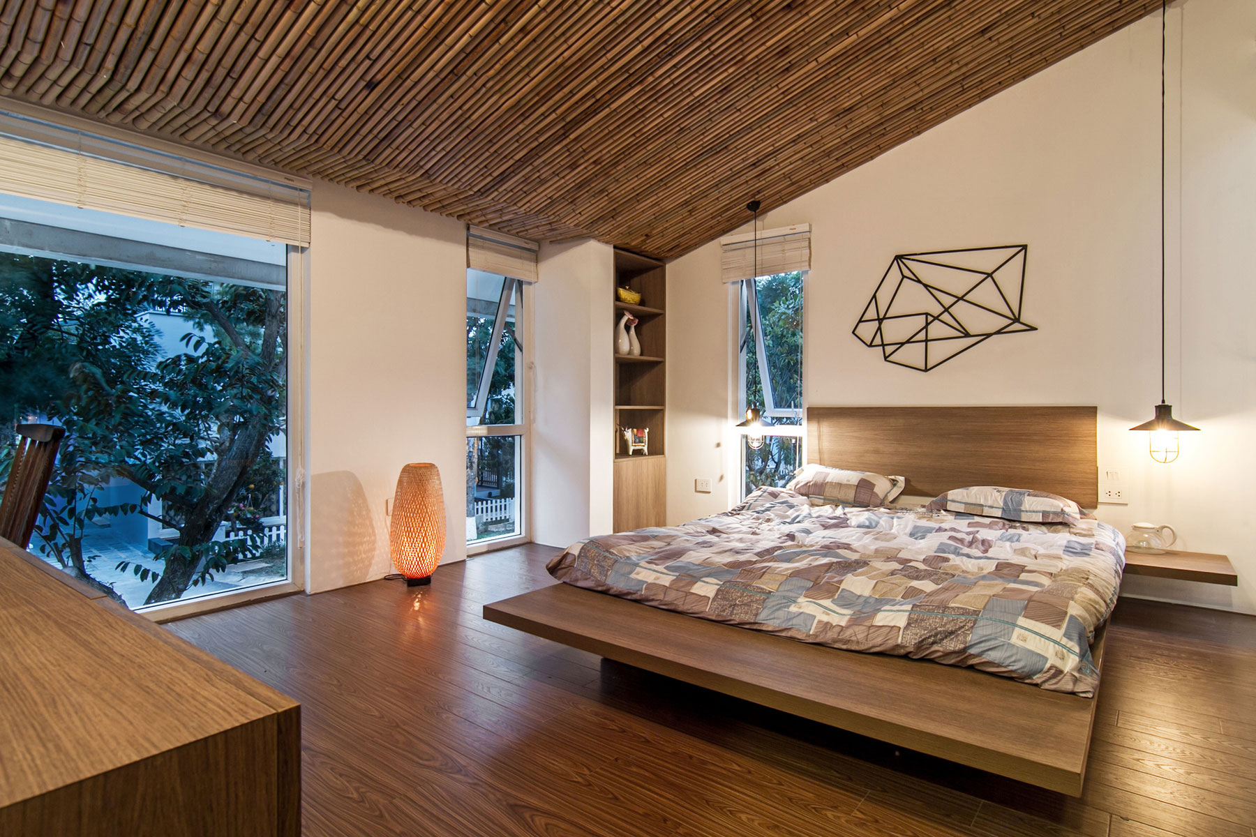 EPV Semi-Detached House Located in Ecopark Green Urban Area, Vietnam by AHL architects associates-21