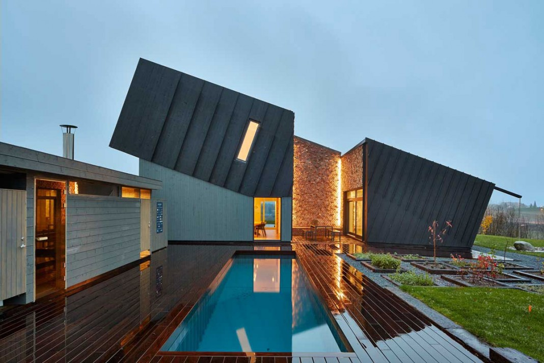 Eco Friendly ZEB Pilot House in Larvik by Sn¸hetta CAANdesign