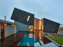 Eco-Friendly ZEB Pilot House in Larvik by Snøhetta