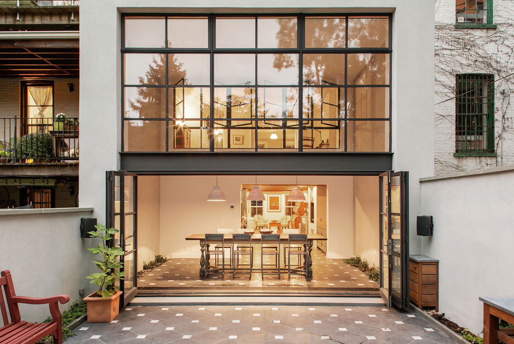 Elegant Cumberland St Townhouse in Brooklyn by Ensemble Architecture-25