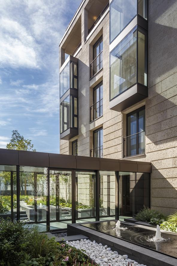 Elegant St. Edmund's Terrace development in London by Squire and Partners-02