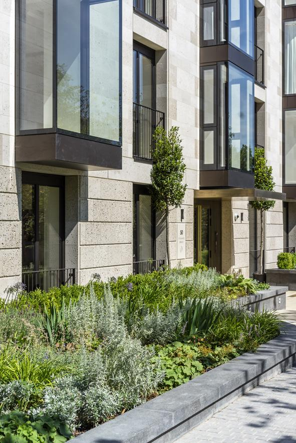 Elegant St. Edmund's Terrace development in London by Squire and Partners-04