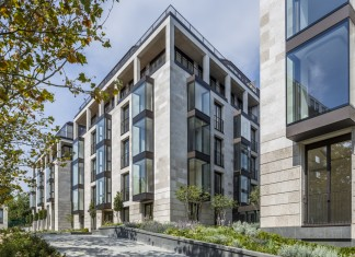 Elegant St. Edmund's Terrace development in London by Squire and Partners