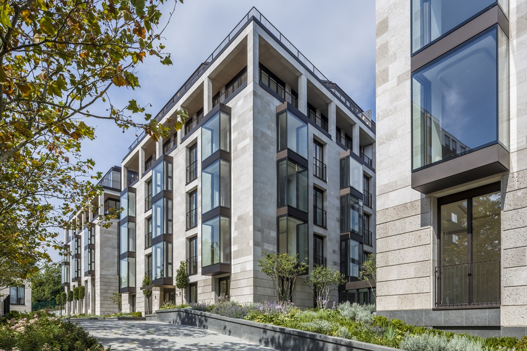 Elegant st edmund s terrace development in london by for Terrace homes