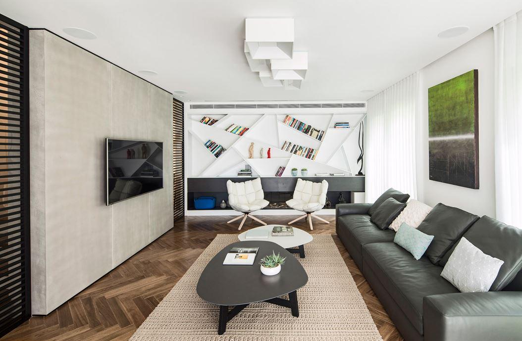 Family designed B house in Ramat HaSharon by Tal Goldsmith Fish Design Studio-07