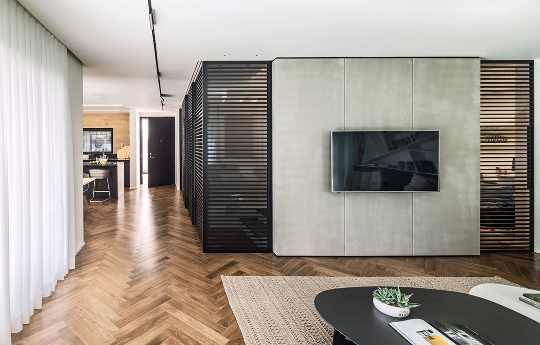 Family designed B house in Ramat HaSharon by Tal Goldsmith Fish Design Studio-08