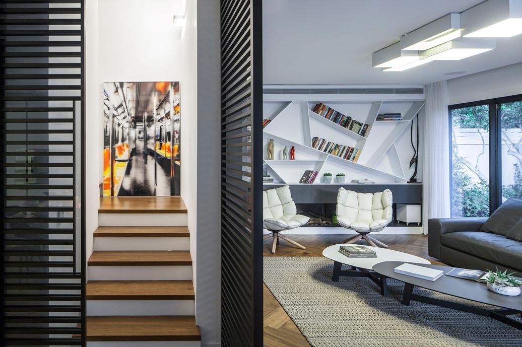 Family designed B house in Ramat HaSharon by Tal Goldsmith Fish Design Studio-10
