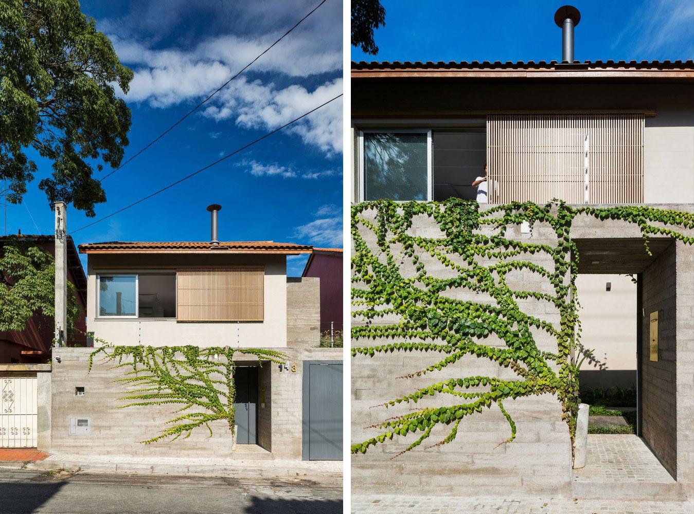 Free an fluid space of Sagarana house from São Paulo by Rocco Arquitetos-02