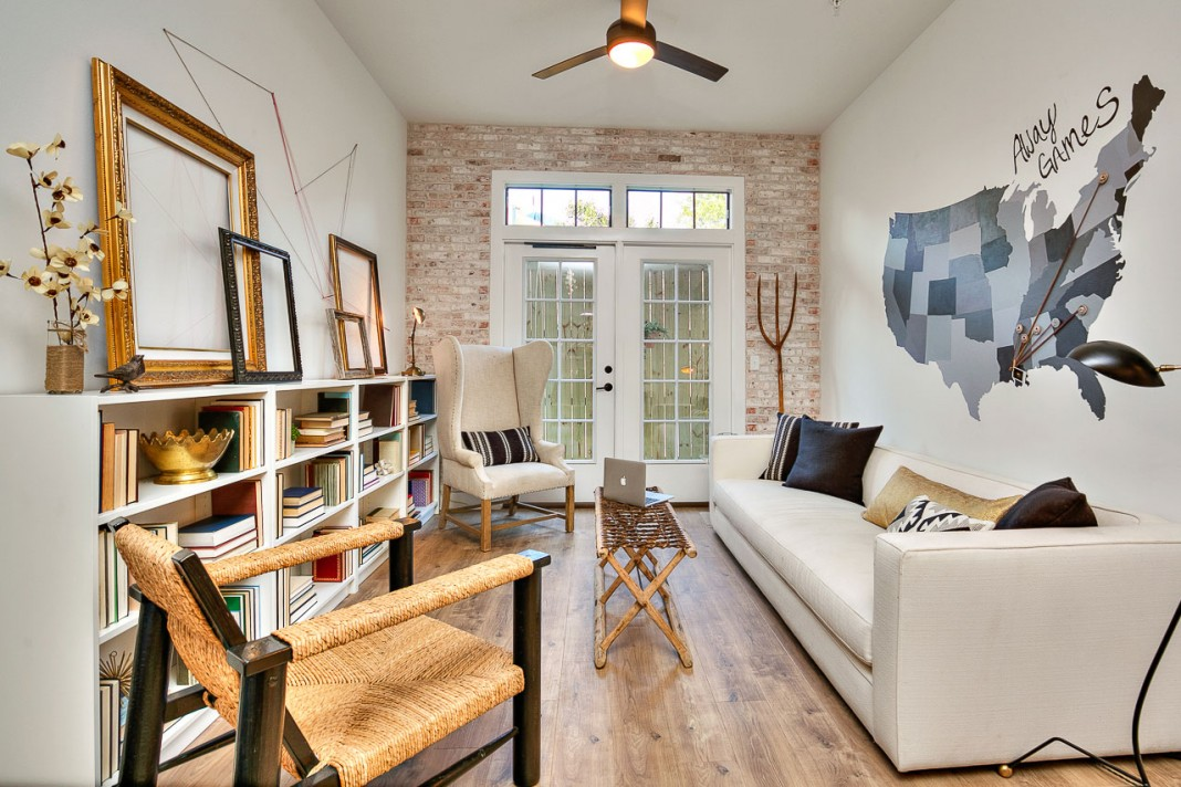 Fresh College Campus Loft at Baton Rouge by Kenneth Brown Design