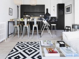 Hackney Apartment in London by Laura Lakin Design