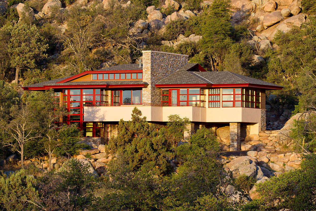 Hinshaw Residence in Prescott by Michael Rust-01
