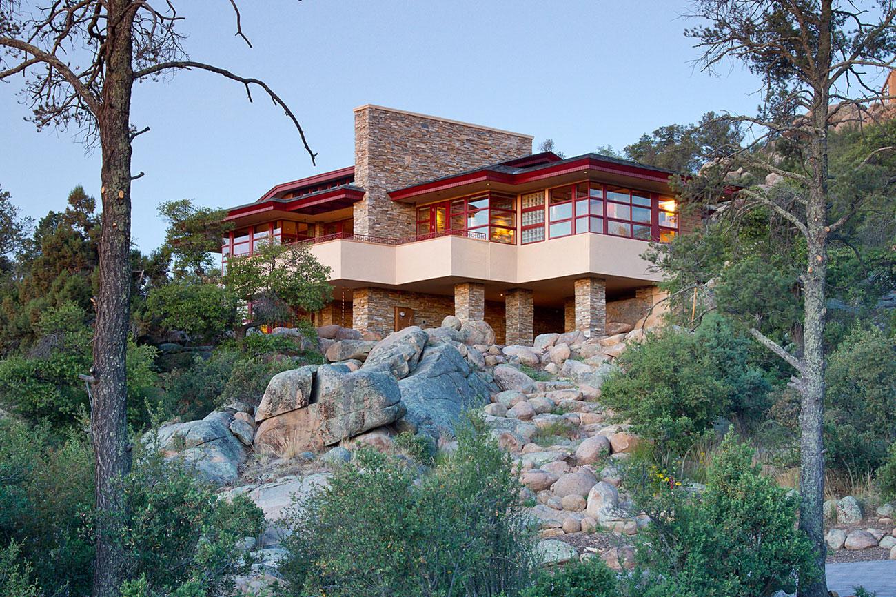 Hinshaw Residence in Prescott by Michael Rust-11