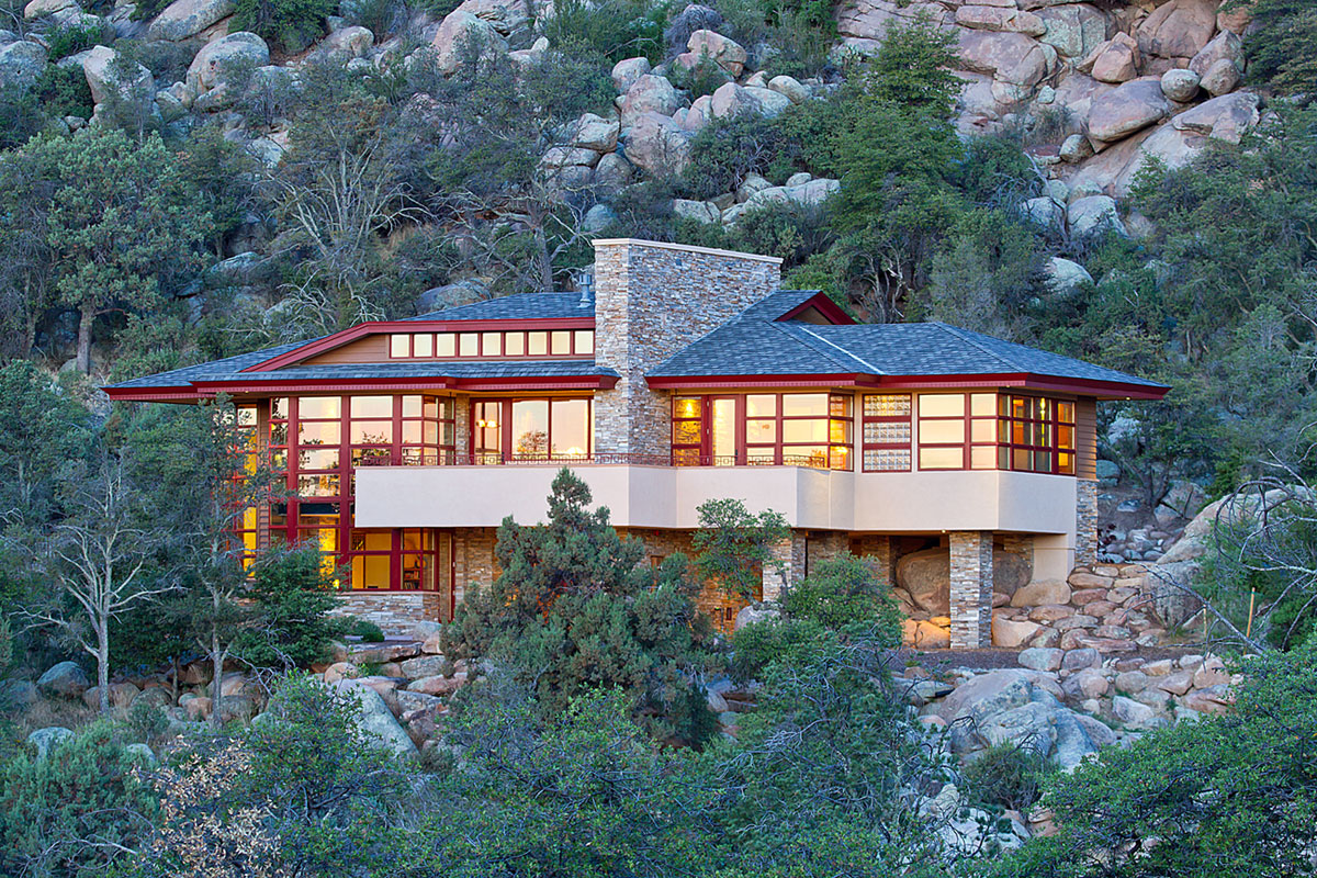 Hinshaw Residence in Prescott by Michael Rust-12