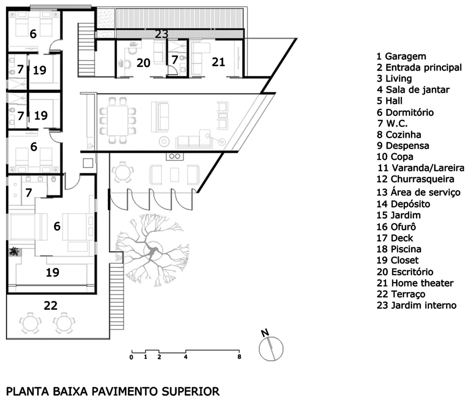 Jabuticaba House Residence Pourpose of Surrounding a Beloved Tree by Raffo Arquitetura-17