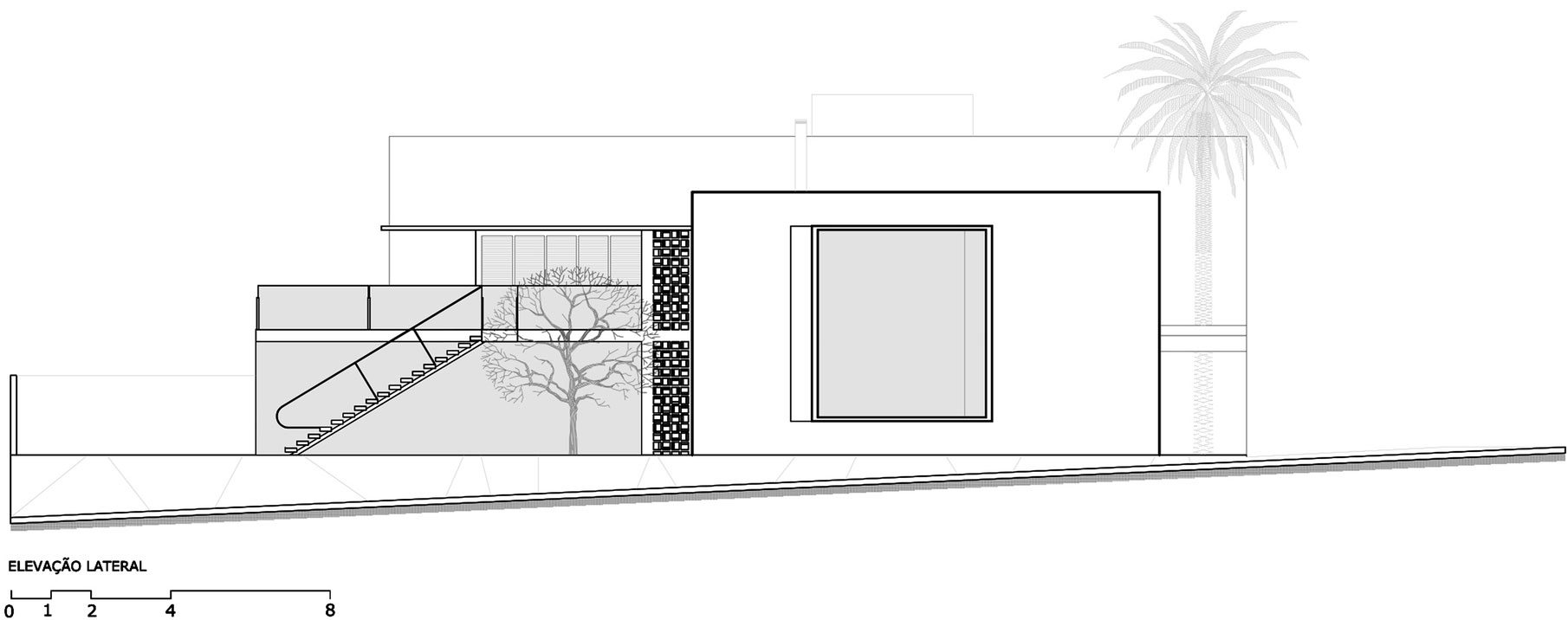 Jabuticaba House Residence Pourpose of Surrounding a Beloved Tree by Raffo Arquitetura-19