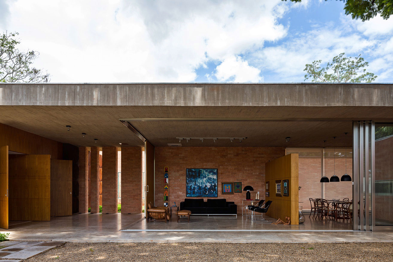L shape BLM House by ATRIA Arquitetos-12