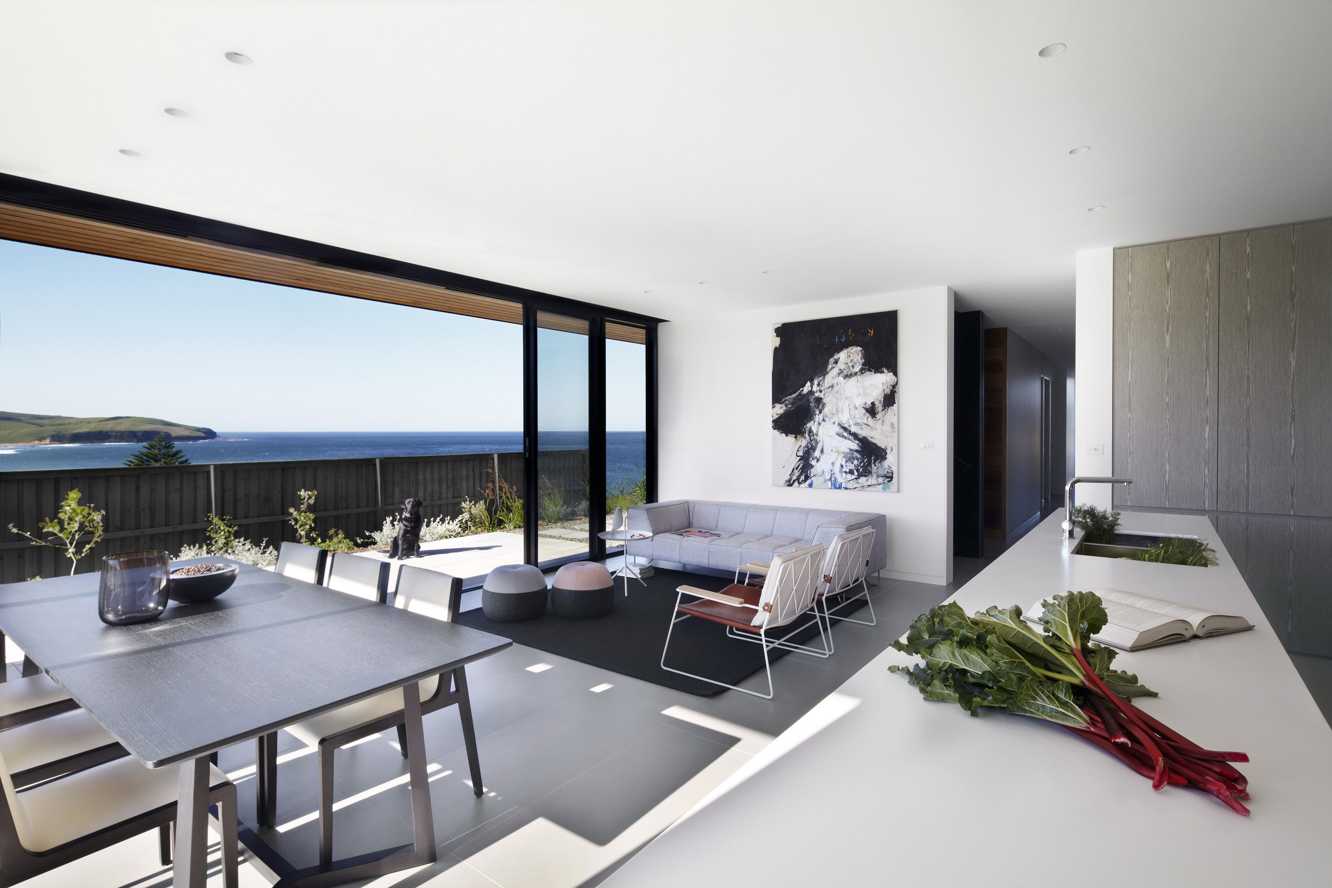 Lamble Modern Beach House With 270˚ Views Of The Ocean By
