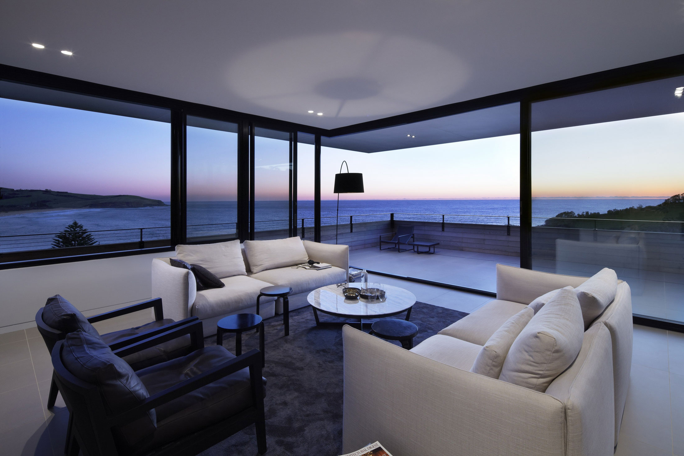Lamble Modern Beach House with 270 Views of the Ocean by Smart Design Studio-17