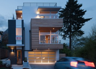 Leschi Dearborn House in Seattle by JW Architects