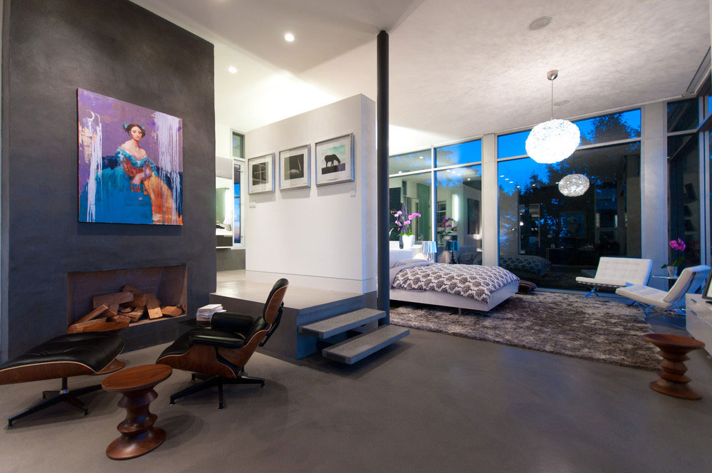 Modern Almondel Home Located in West Vancouver by Mcleod Bovell-08