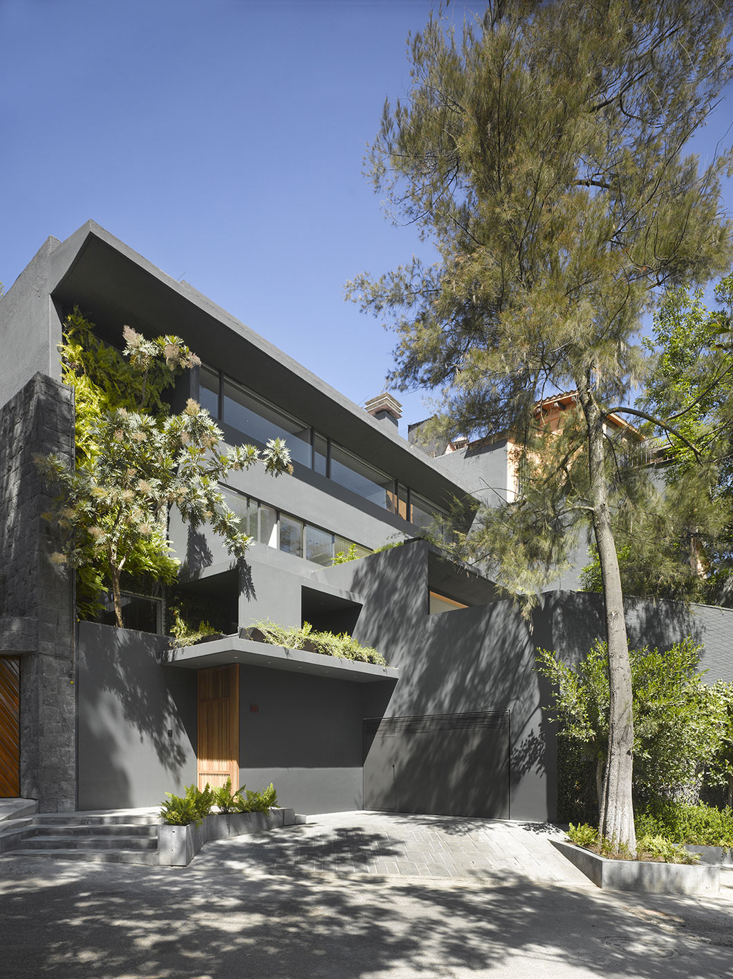 Modern Barrancas House in Mexico City by EZEQUIELFARCA architecture and design-01