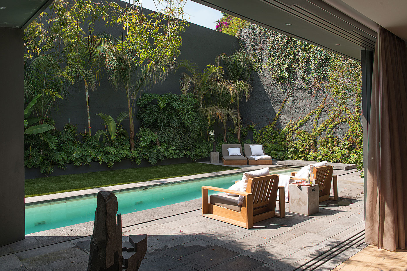 Modern Barrancas House in Mexico City by EZEQUIELFARCA architecture and design-04