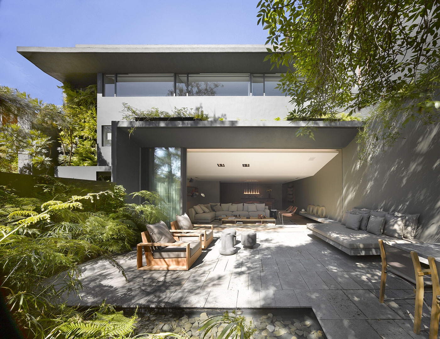 Modern Barrancas House in Mexico City by EZEQUIELFARCA architecture and design-05