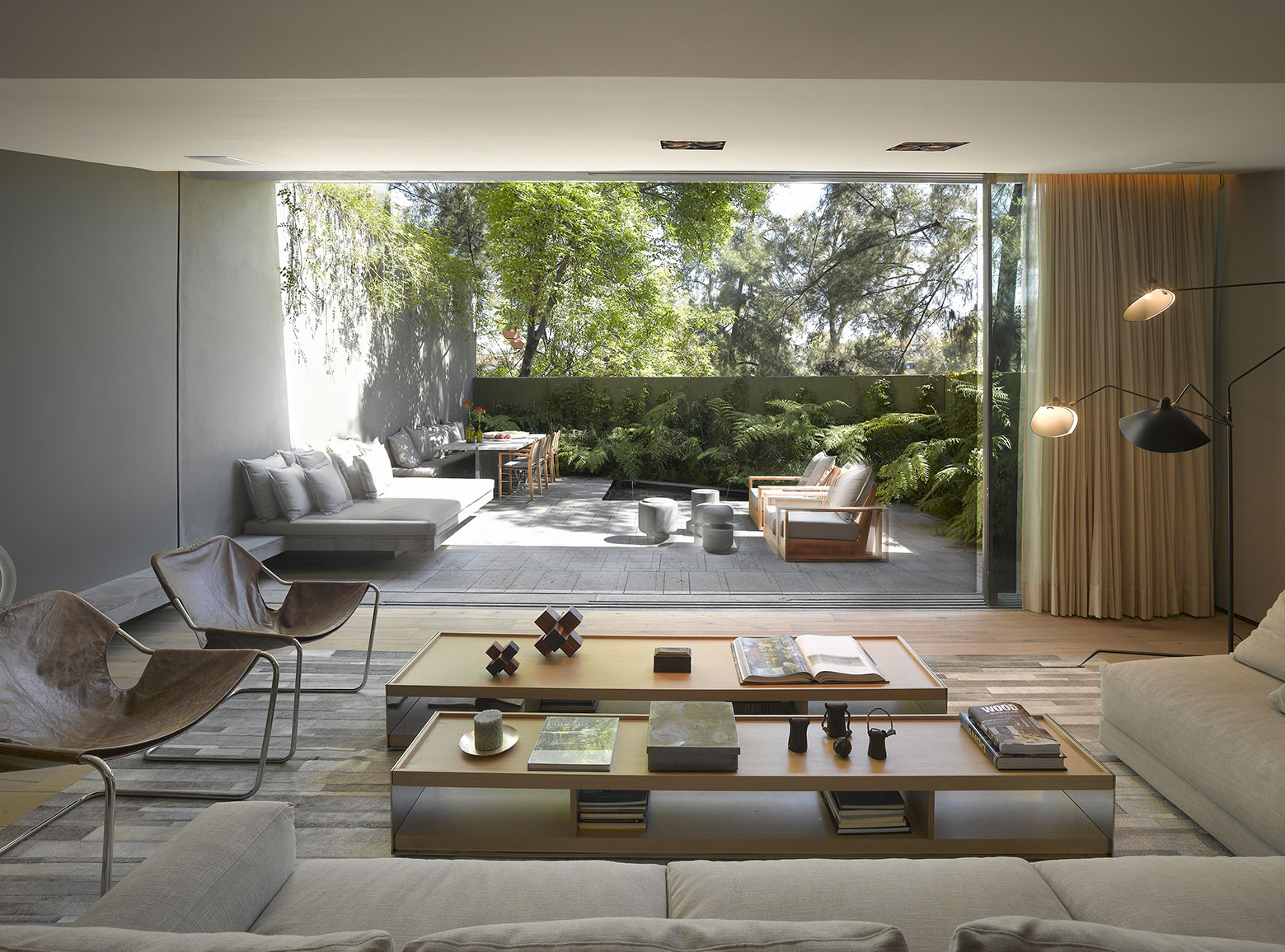 Modern Barrancas House in Mexico City by EZEQUIELFARCA architecture and design-06