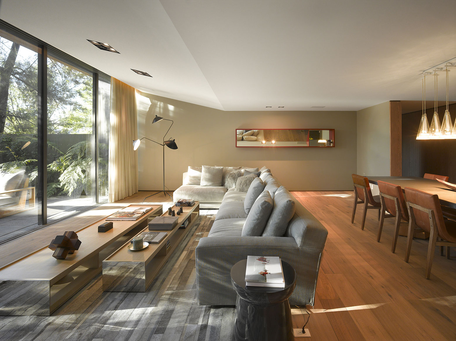 Modern Barrancas House in Mexico City by EZEQUIELFARCA architecture and design-07