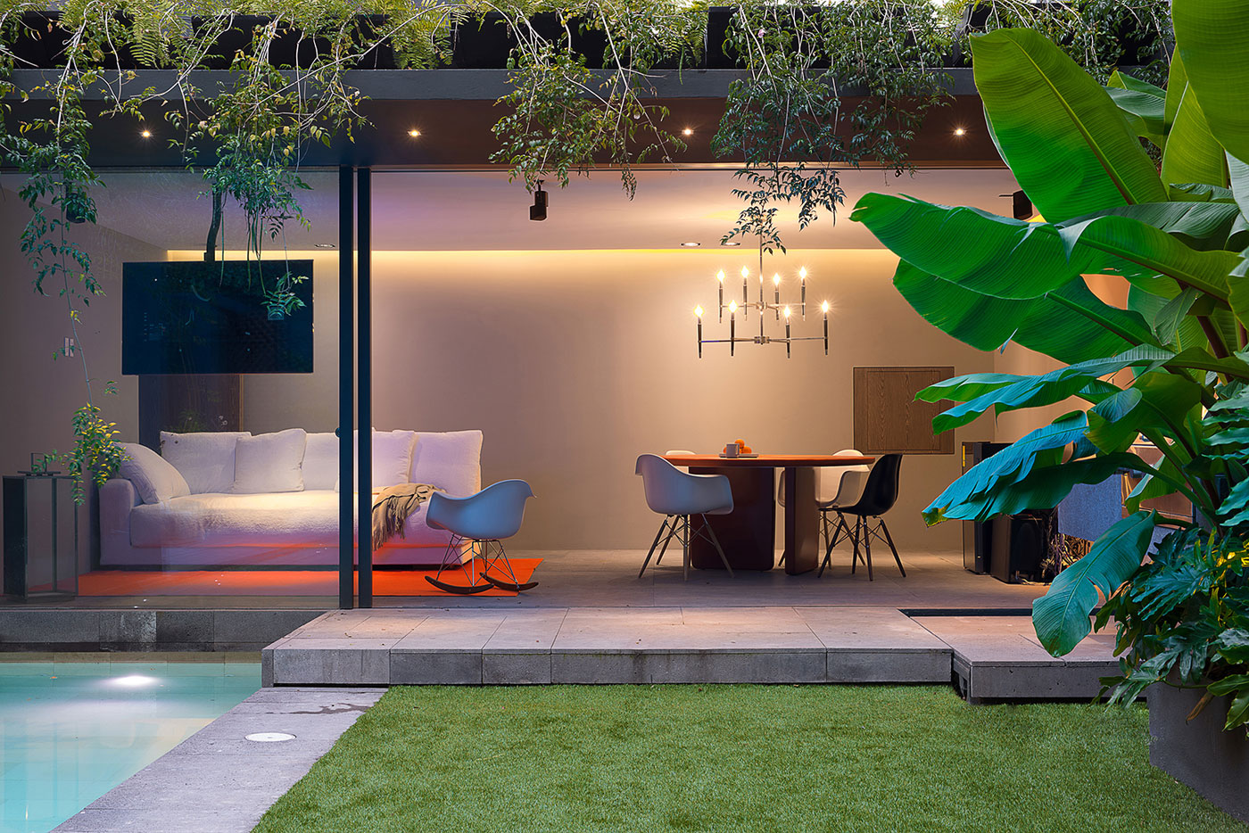 Modern Barrancas House in Mexico City by EZEQUIELFARCA architecture and design-19