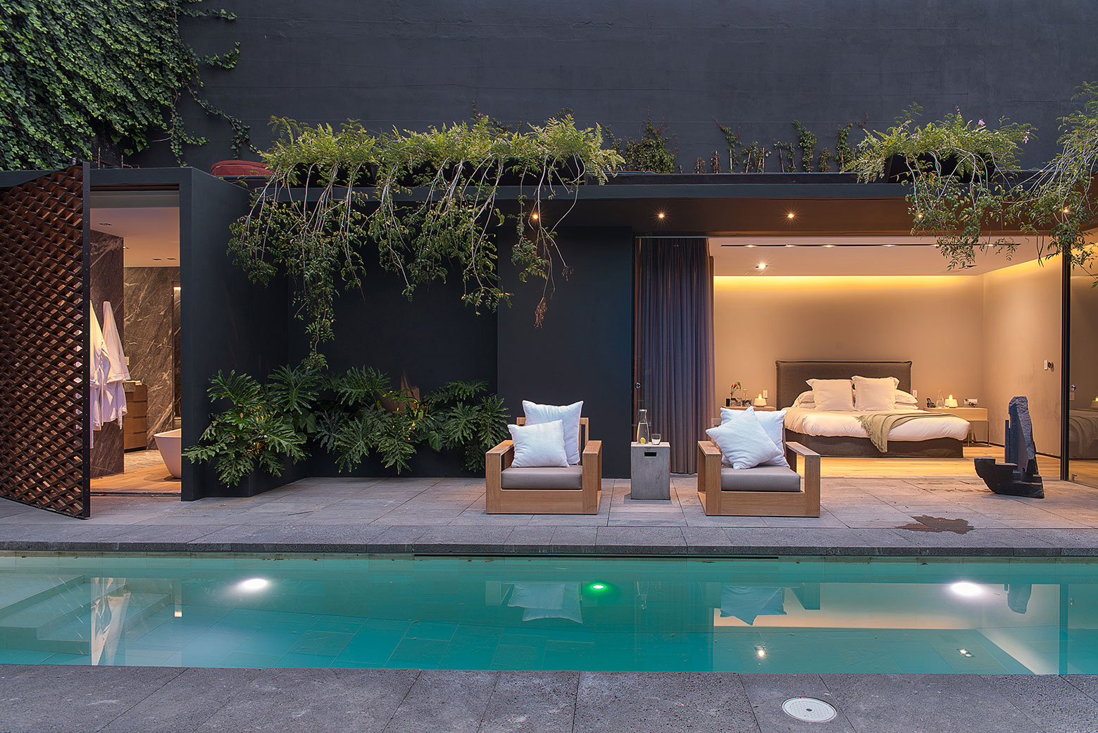 Modern Barrancas House in Mexico City by EZEQUIELFARCA architecture and design-20