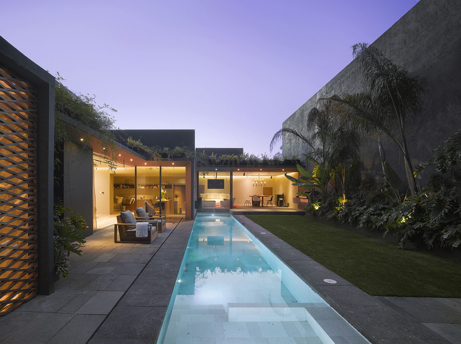 Modern Barrancas House in Mexico City by EZEQUIELFARCA architecture and design-21