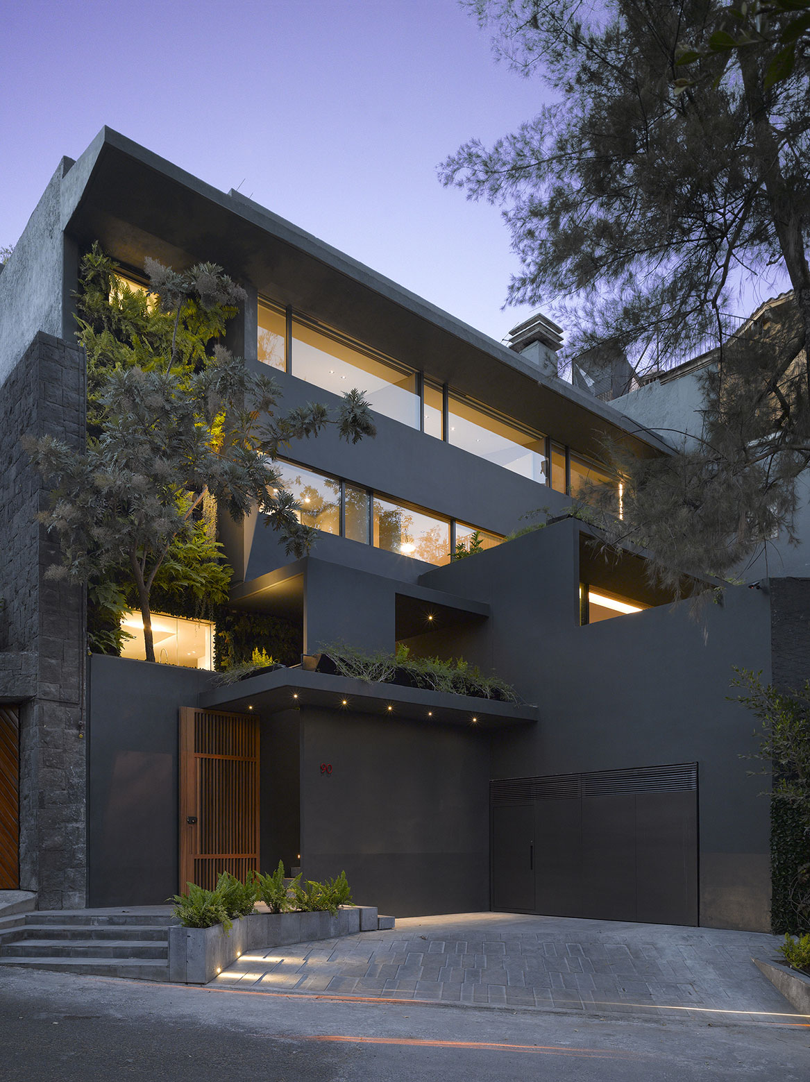 Modern Barrancas House in Mexico City by EZEQUIELFARCA architecture and design-23