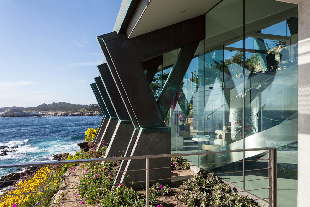 Modern Configuration of Carmel Highlands Residence With Awesome Sea Views by Eric Miller Architects-08